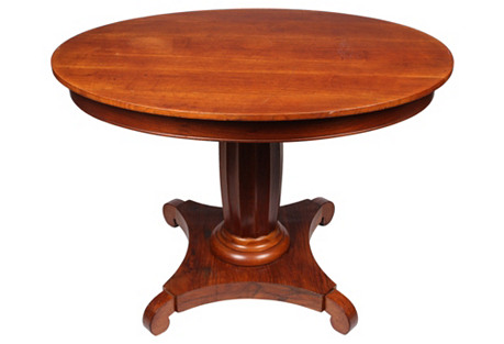 Biedermeier-Style  Walnut Table
