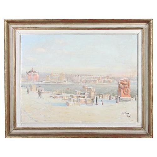 Snowy Harbour, 1948