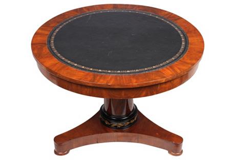 Louis Philippe-Style Mahogany Table