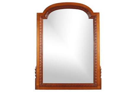 1940s Mahogany Dressing Mirror