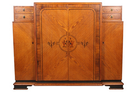 1930s French Art Deco Dressing Cabinet
