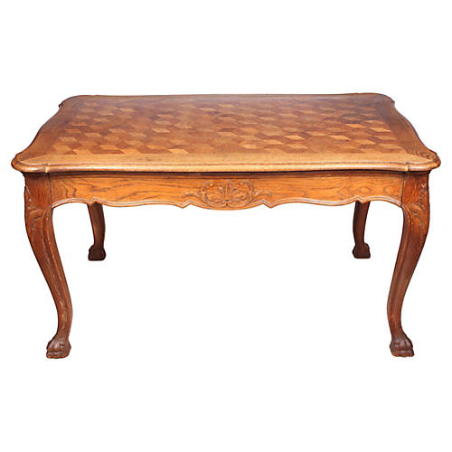 1940s Louis XV-Style Dining Table