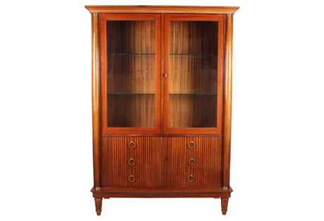 Midcentury Regency-Style Bookcase