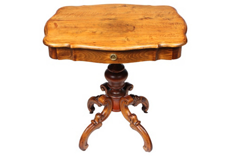 1880s French  Sewing Table
