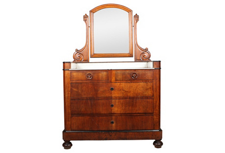 1840s Louis Philippe Bachelor's Chest