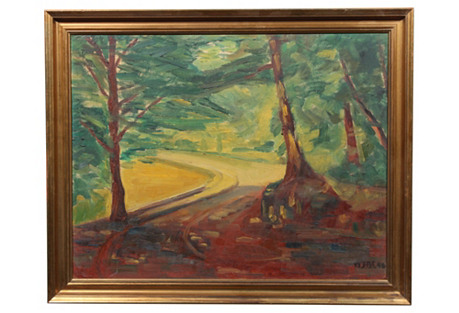 Bending Through Trees by H. Braemer 1948