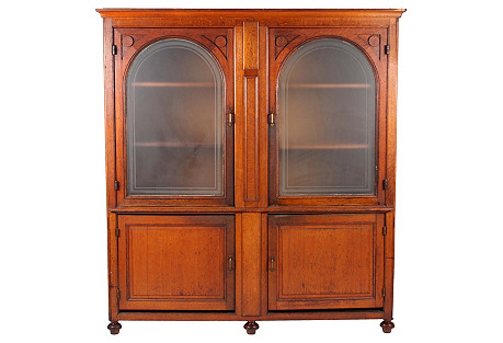 Antique European Apothecary Cabinet
