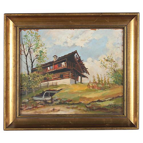 Homestead by M. Schinzel, 1942