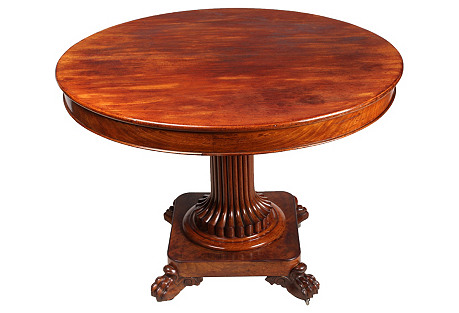 1940s French Empire-Style Center Table