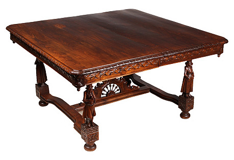 1880s Renaissance Revival Table
