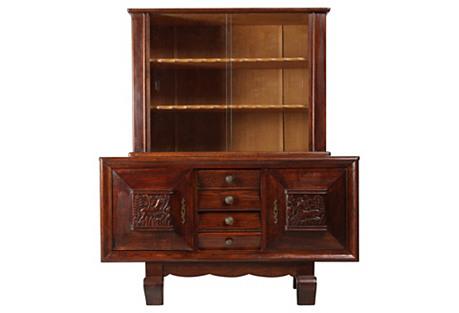 1940s Art Deco Display Cabinet