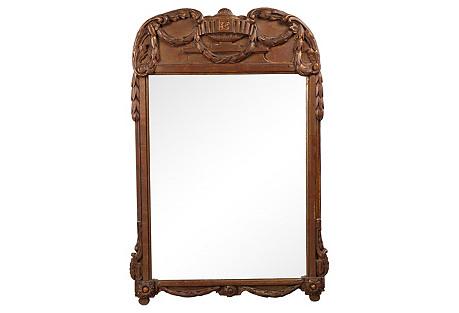 1930s Belgian Parlor Mirror
