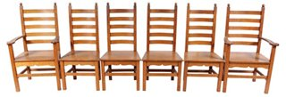 Exceptionnel 1940s Shaker Style Dining Chairs, S/6   Dining Chair Sets   Dining Chairs    Dining Room   Furniture | One Kings Lane