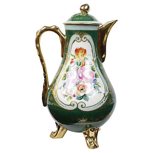Paris Hand-painted Teapot