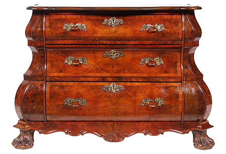 Dutch Baroque-Style Commode