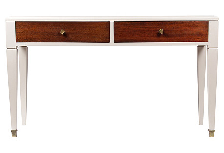1950s Neoclassical-Style Foyer Console