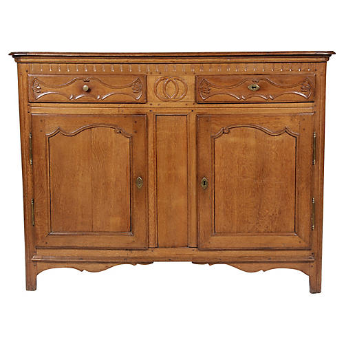 Antique Louis XV-Style Buffet