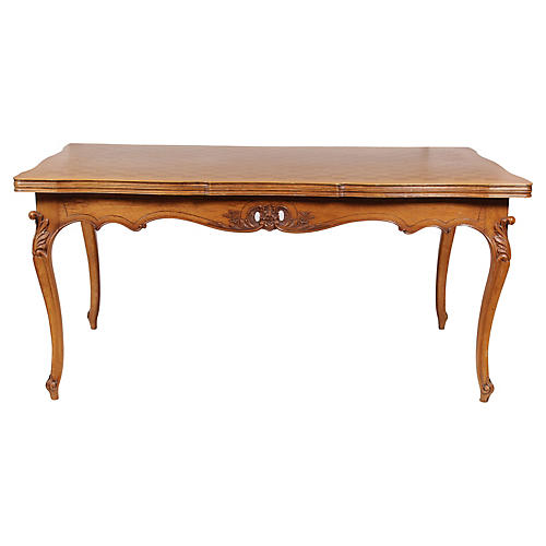 Louis XV-Style Parquet Top Dining table