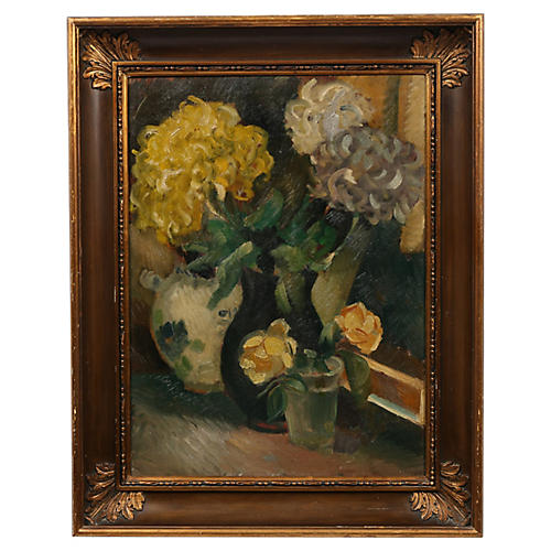Hydrangea Still Life Painting