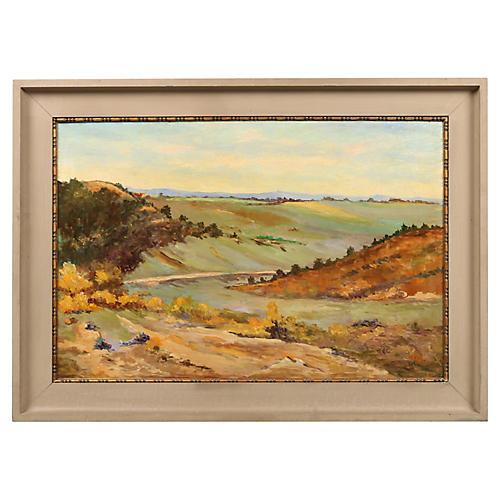 """Victor Hartnack """"Countryside Landscape"""""""