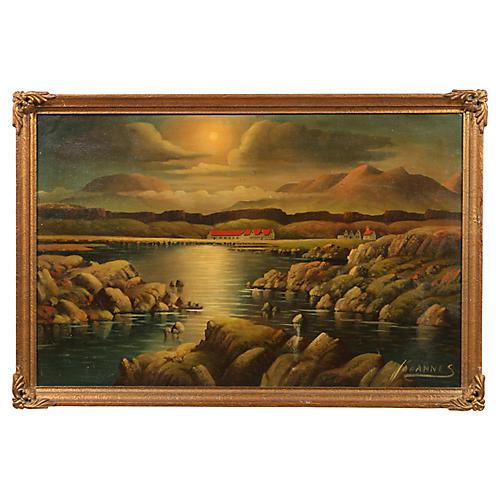 "Johannes ""Sunset Over The Estate"""