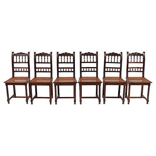 1870s French Renaissance Style Chairs