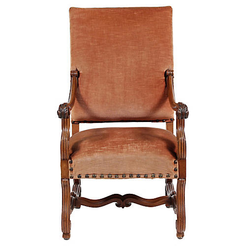 French Renaissance-Revival-Style Chair