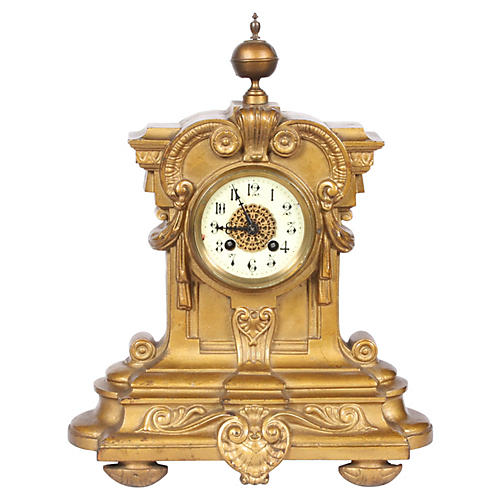 C.1910 French Mantle Clock