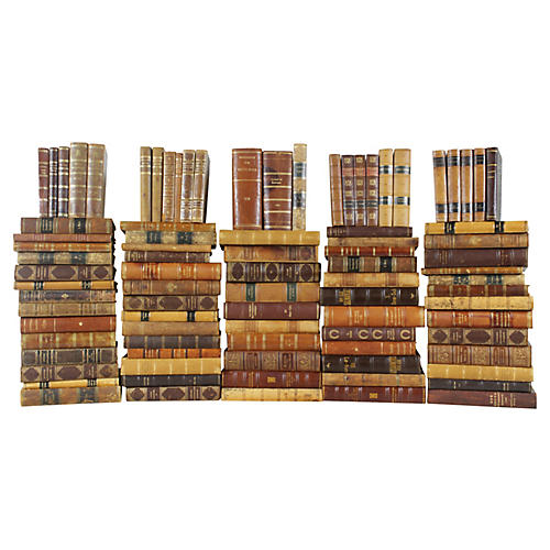 Leather-Bound Books, S/88