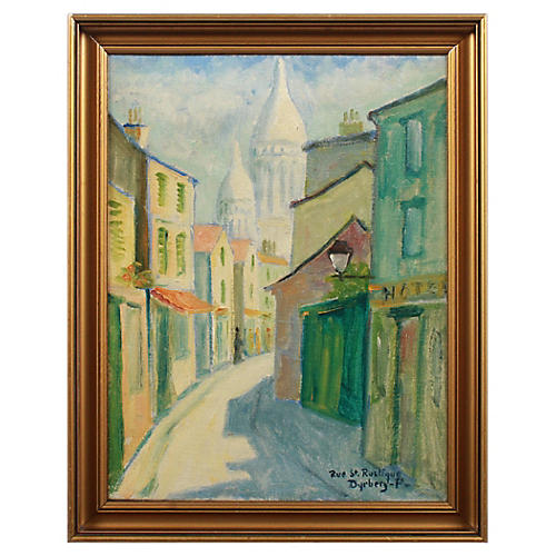 Emil Dyrberg Petersen Rue St. Rustique