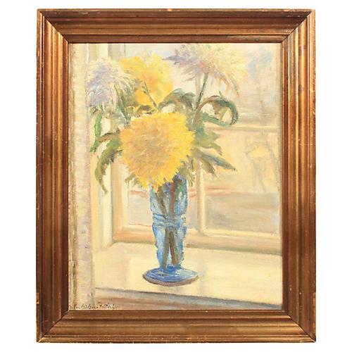 Impressionist Floral Still Life