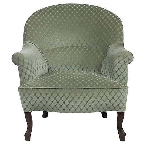 1890s Victorian Ladies Slipper Chair