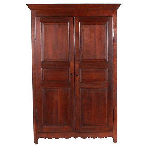 C.1920 Monumental French Armoire