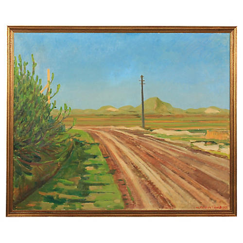 Country Road by Hans Flauenskjold, 1938