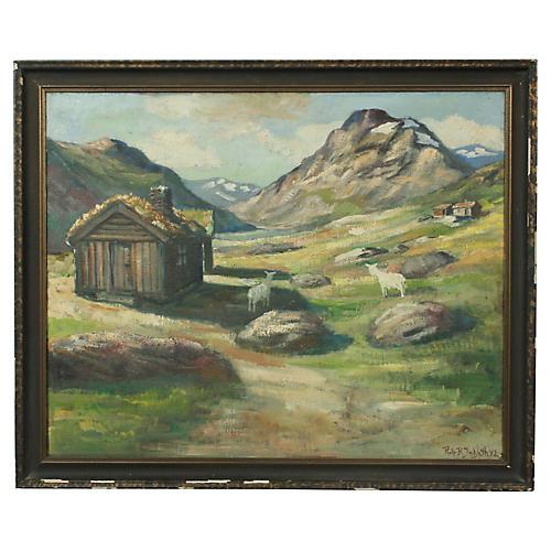 Rolf Indseth Norwegian Landscape