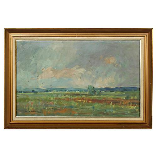 Mid-Century Impressionist Springtime