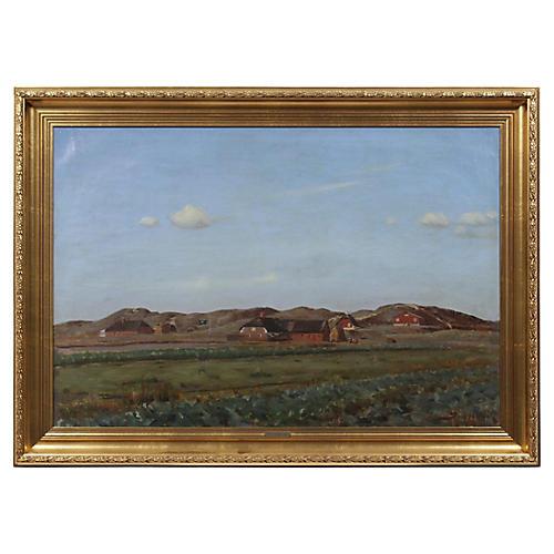1929 Landscape by Sand Holm