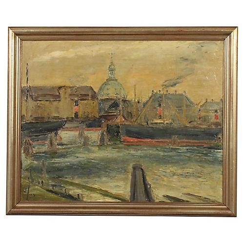 Impressionist Painting by Einar Johansen