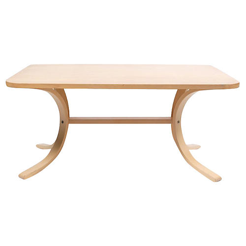 Asko Mid-C. Modern Birch Coffee Table