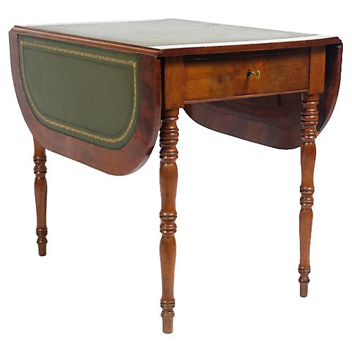 19th-C. Louis Philippe-Style Side Table