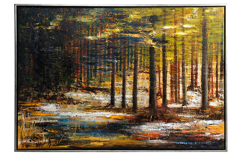 Abstract Forest by Susanne Gredsted