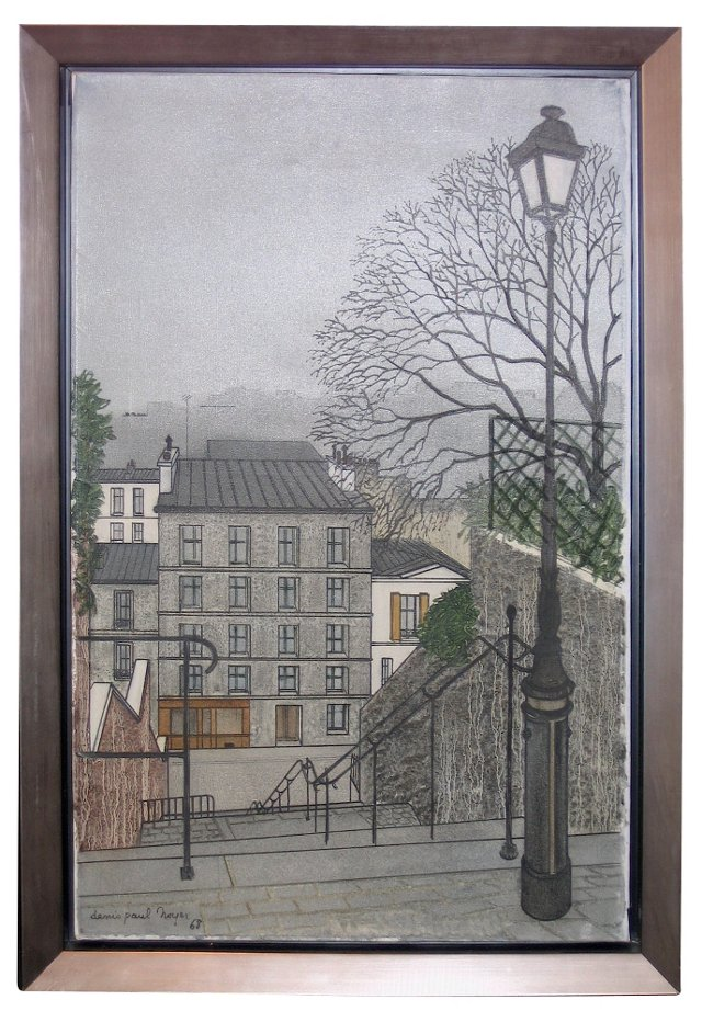 Escaliers Montmartre, Paris by D. Noyer
