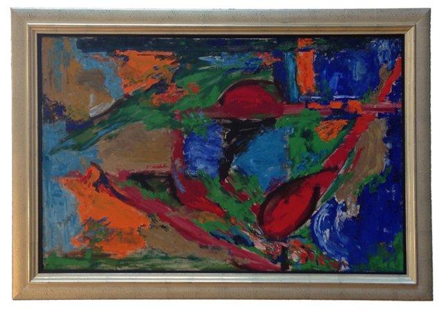 School of Hans Hoffman, 1960s Abstract