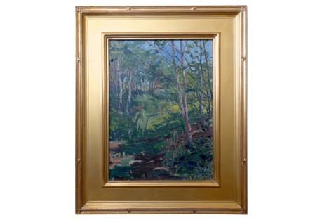German Impressionist Landscape