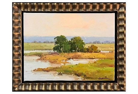 Plein Air Landscape in Summer