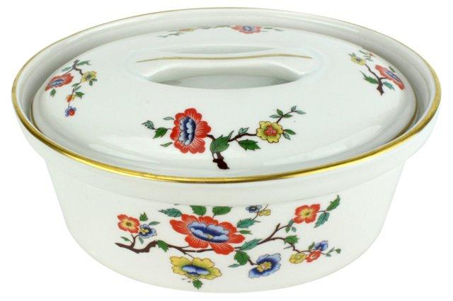 French Porcelain Casserole