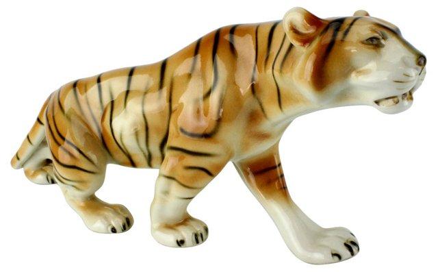 Royal Dux Czech Tiger