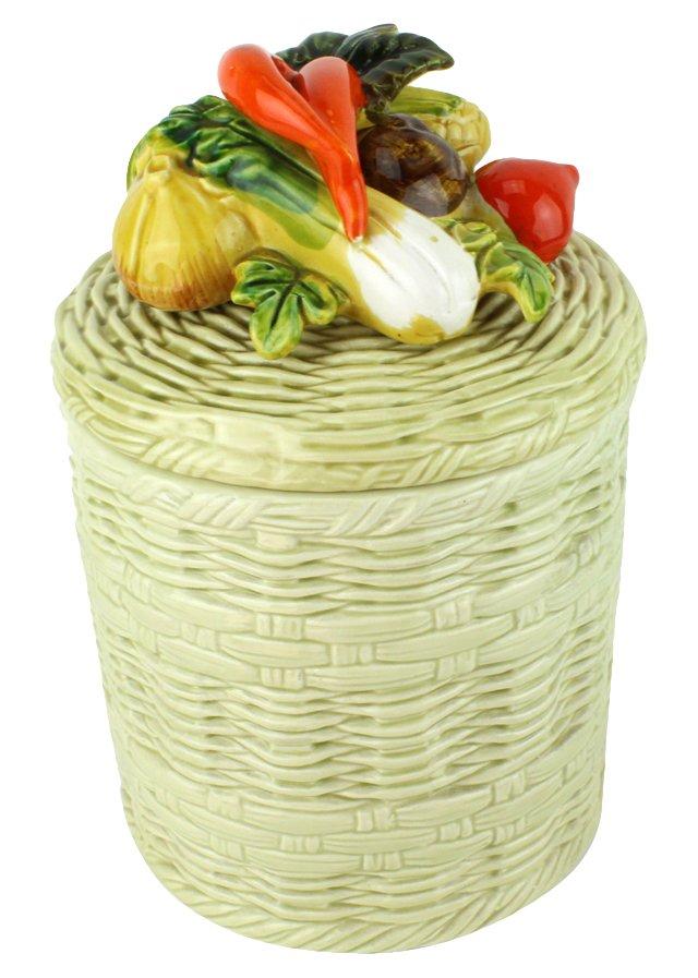 Lefton Vegetable Canister