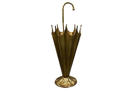 Italian Brass Umbrella Umbrella Stand