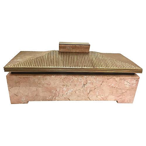 Midcentury Pagoda Box